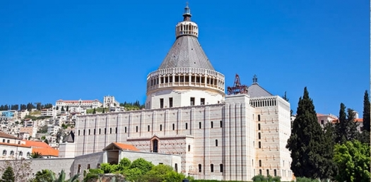 Travel to the Basilica of Annunciation during your Israel Tour