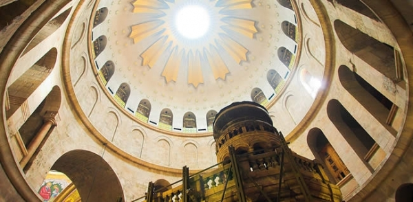 Visit the Church of the Holy Sepulchre in Jerusalem